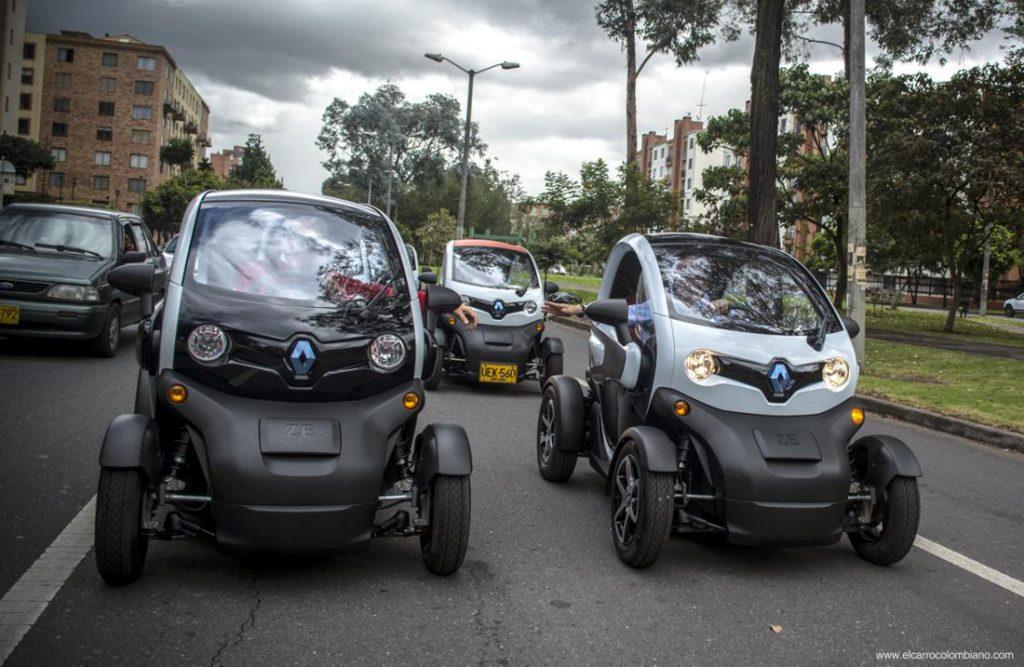 Renault Twizy en Colombia