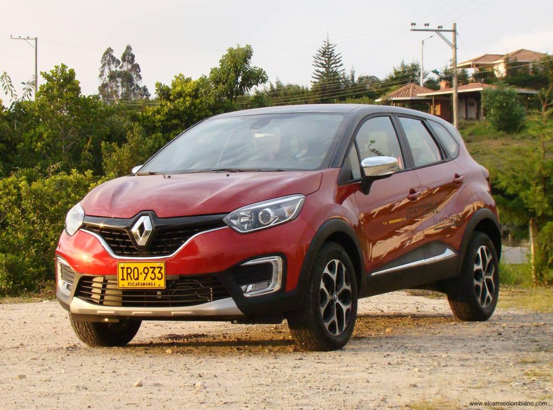 Renault Captur Test Colombia