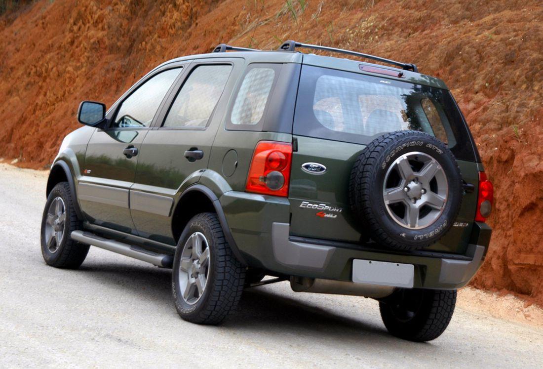 ford ecosport, ford ecosport historia, ford ecosport 2003, ford ecosport 2008, ford ecosport 2012
