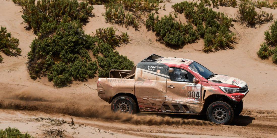 Dakar 2018: Nicolás Fuchs abandona la competencia por problemas mecánicos