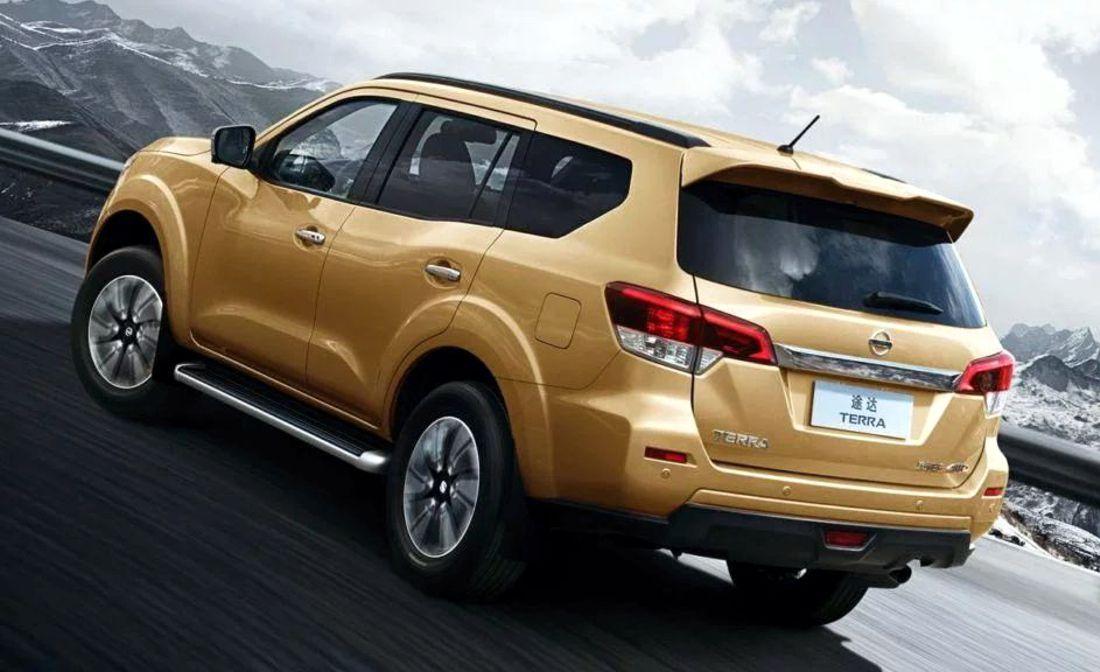 Nissan Terra: La Frontier con cuerpo de SUV presenta sus ...