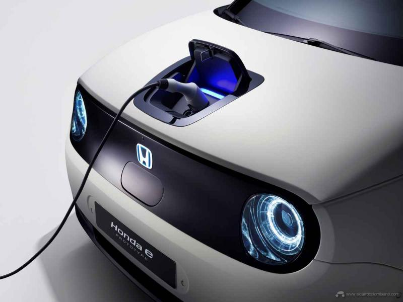 Honda e Prototype at Geneva International Motorshow
