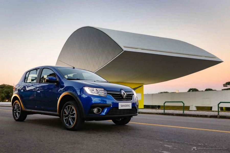 Foto Sandero 2020 CVT - Foto: Daniel Derevecki / La Imagem / Renault