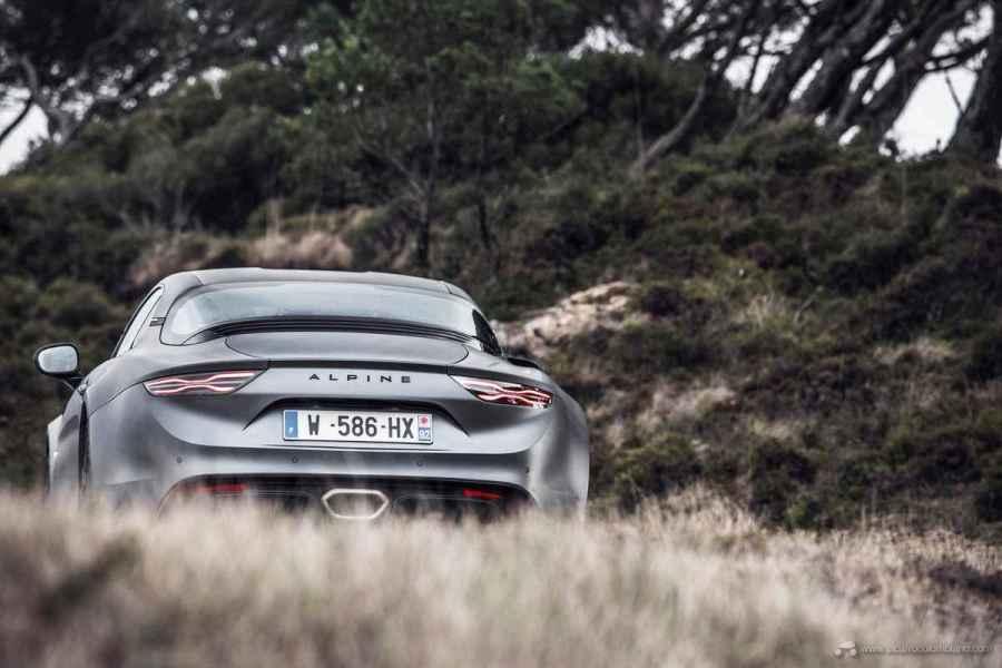 2019 - Essais presse ALPINE A110S au Portugal