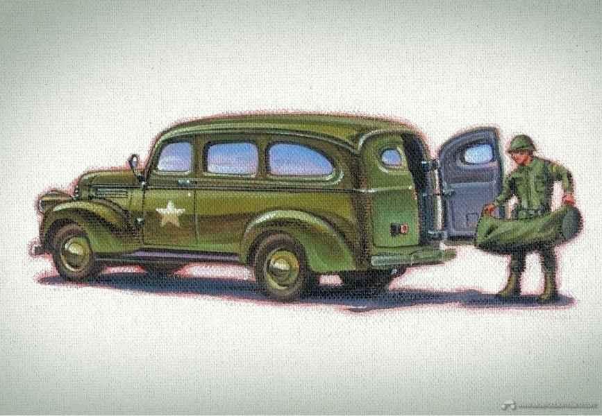 1943 Chevy Suburban