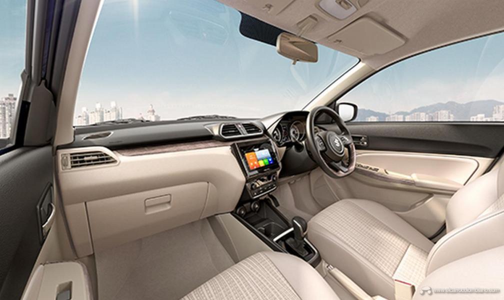 2020-maruti-dzire-facelift-FZ-interior-11ec