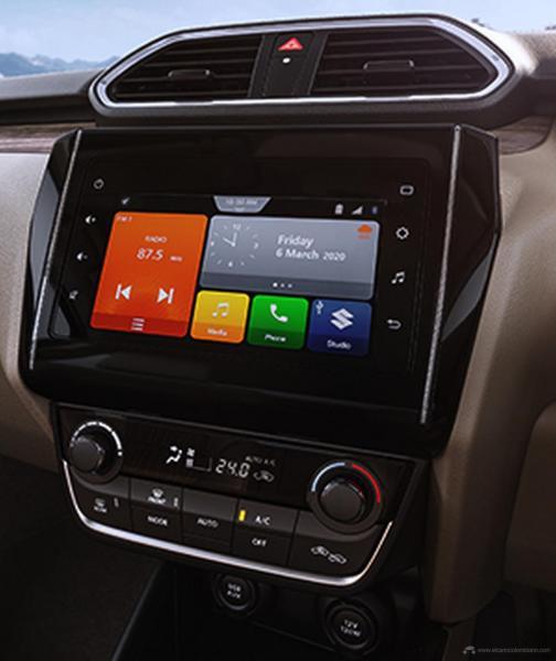 2020-maruti-dzire-facelift-infotainment-system-2345