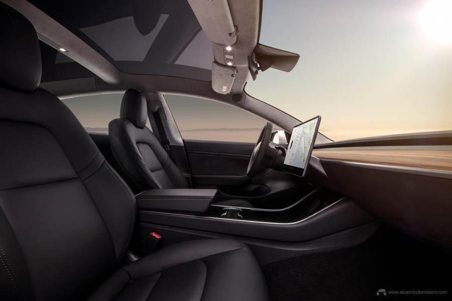 Model-3-Interior-Dash-Profile-View