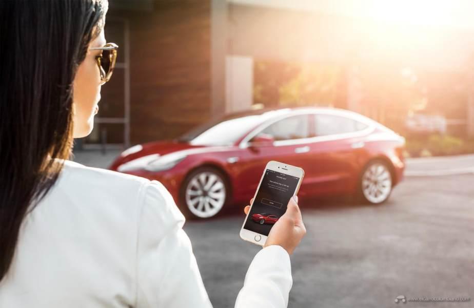 Model-3-My-Tesla-Phone-App-as-Key