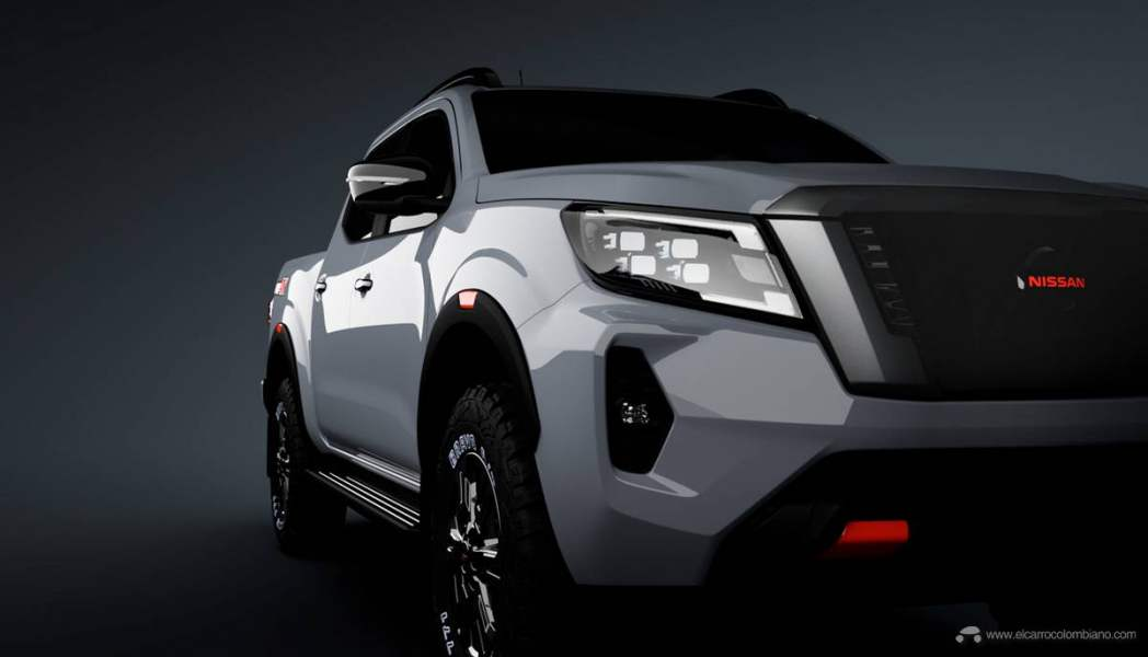 201102_Nissan_2020_Frontier_PRO-4X_Left_Headlight_Side_Shot