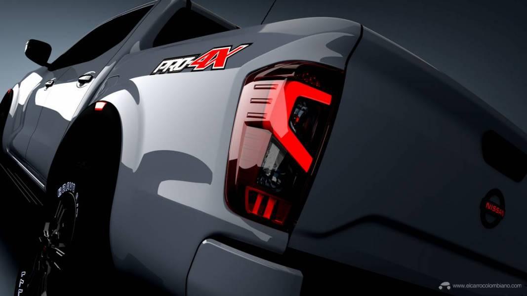 201102_Nissan_2020_Frontier_PRO-4X_Left_Rear_Shot