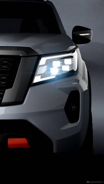 201102_Nissan_2020_NFrontier_PRO-4X_Right_Headlight_Shot