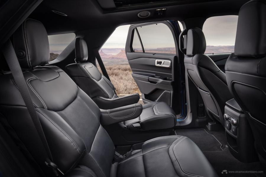 All-new Explorer ST interior