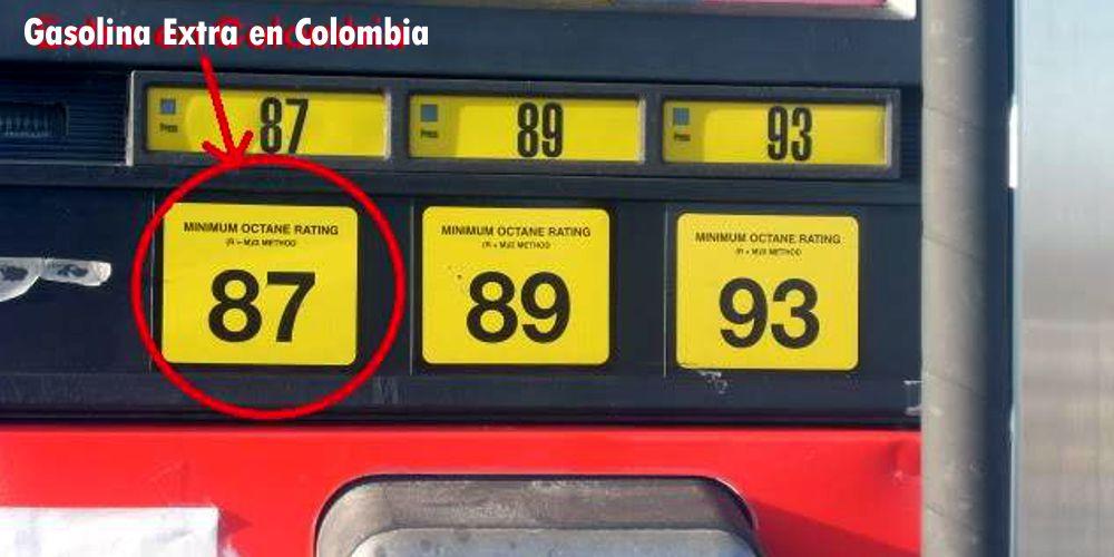 gasolina, gasolina colombia, octanaje gasolina colombia