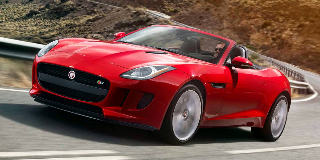 Jaguar F-Type AWD S