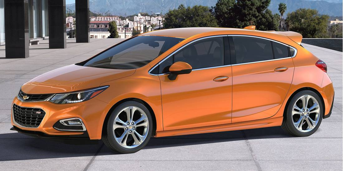 Chevrolet Cruze Hatchback, 2017