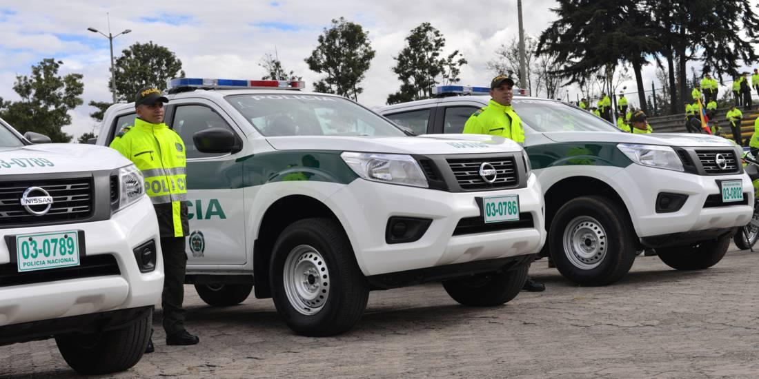 Nissan NP300 Frontier Policía Colombia