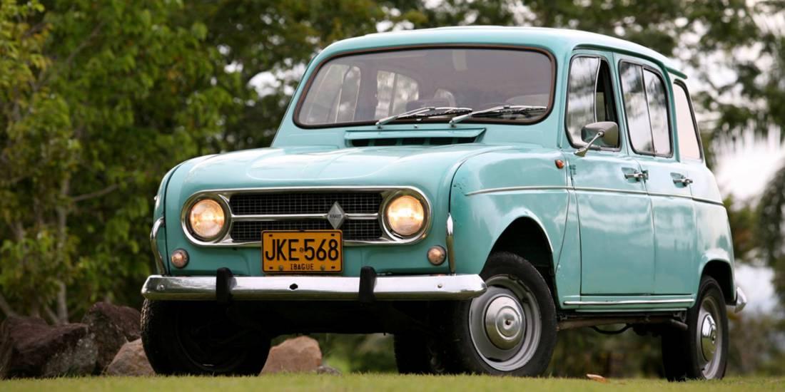 Renault 4 José Antonio Vaca