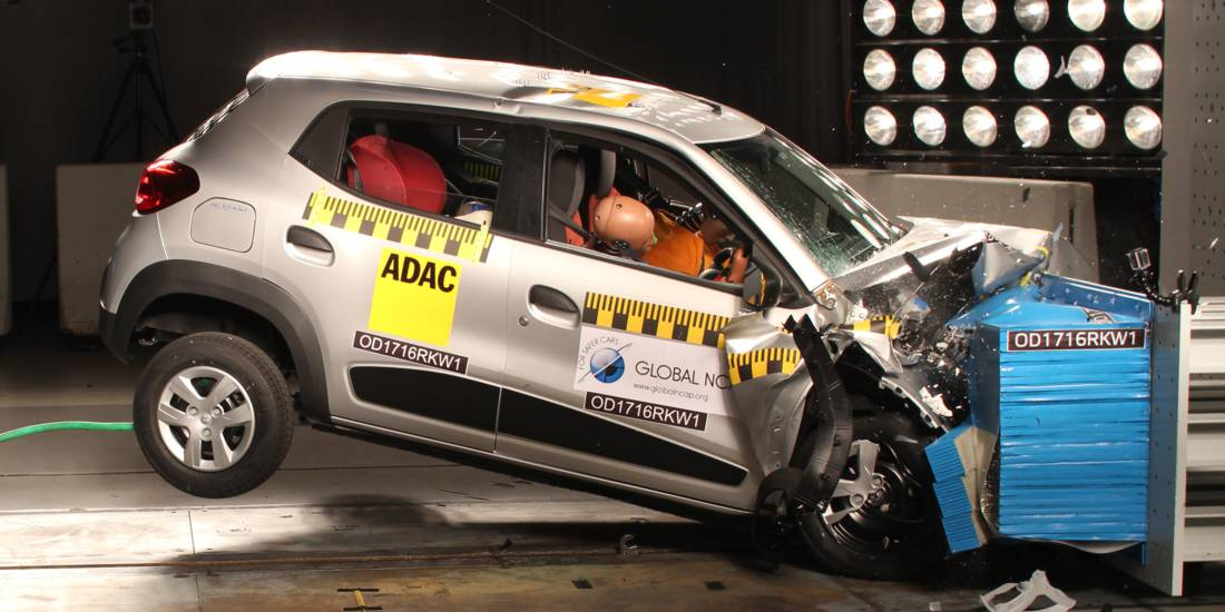Global NCAP carros de la India