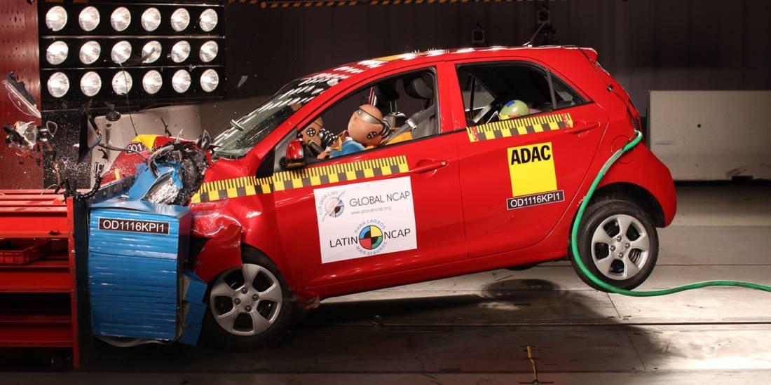 Kia Picanto Latin NCAP 2016