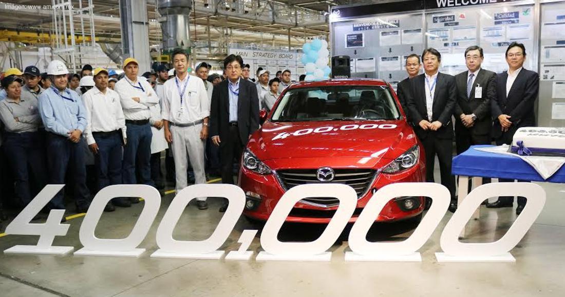 Mazda 400.000 en México