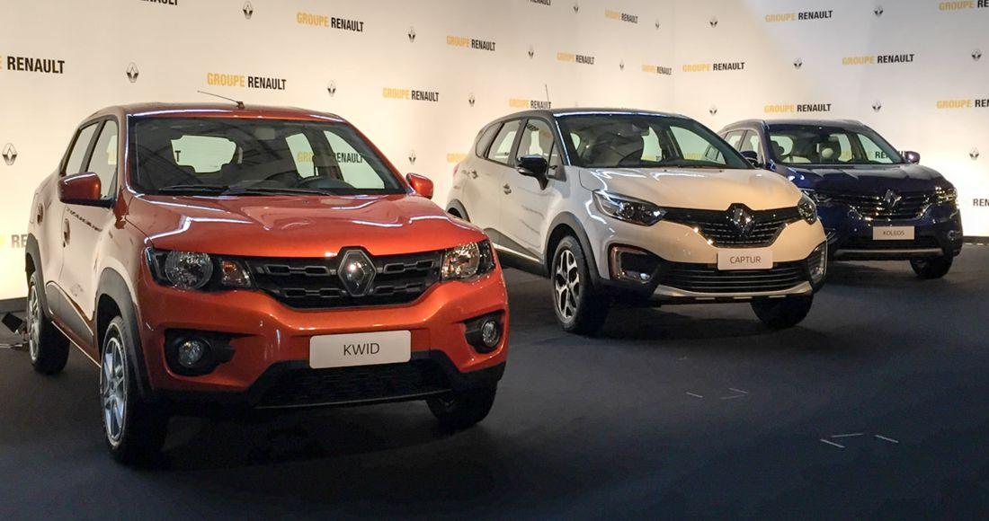 Presentación SUVs Renault en Brasil