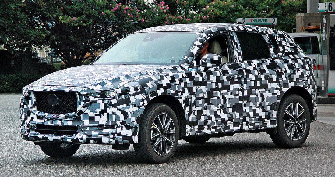 Fotos espía Mazda CX-5 2018