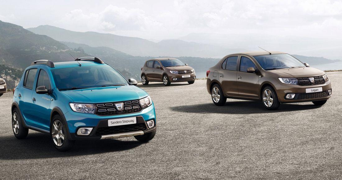 Dacia Logan y Sandero 2017