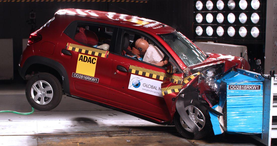 Renault Kwid, Global NCAP