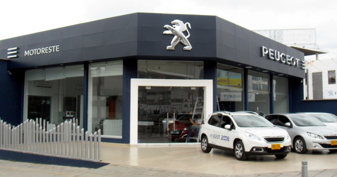 Peugeot, Motoreste, Bucaramanga
