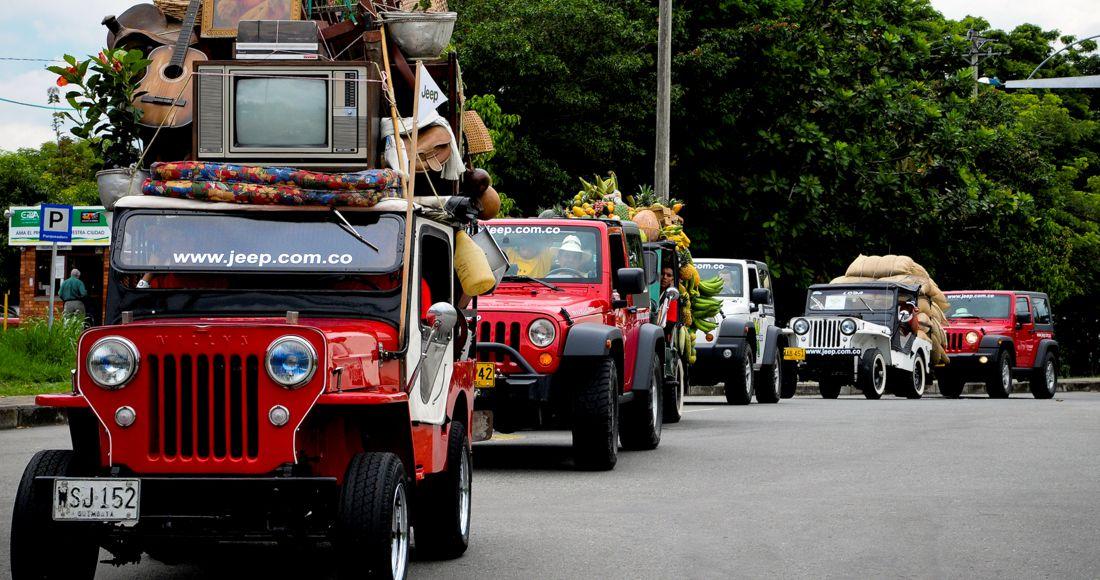 Jeep, Desfile de Yipaos