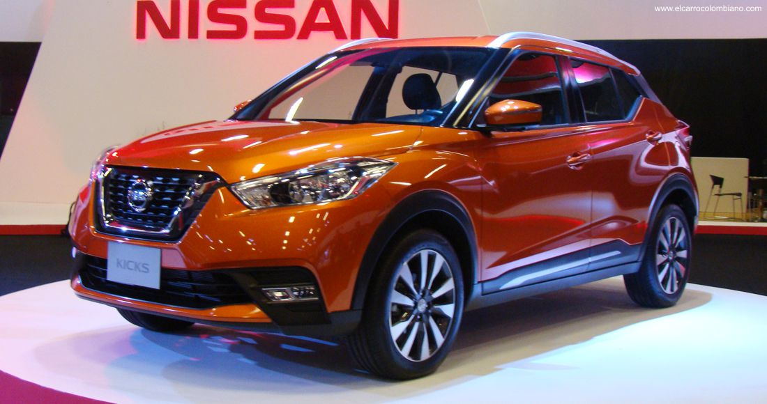 nissan kicks colombia, nissan kicks