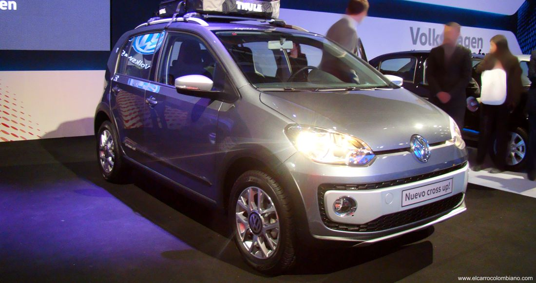 volkswagen cross up colombia