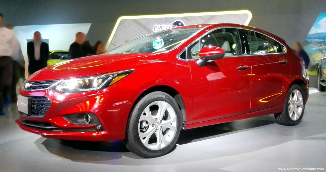 Chevrolet Cruze Hatchback Colombia