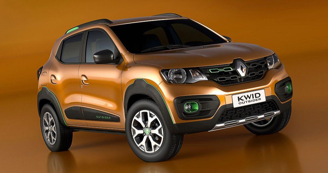 Renault Kwid Outsider Concept Brasil