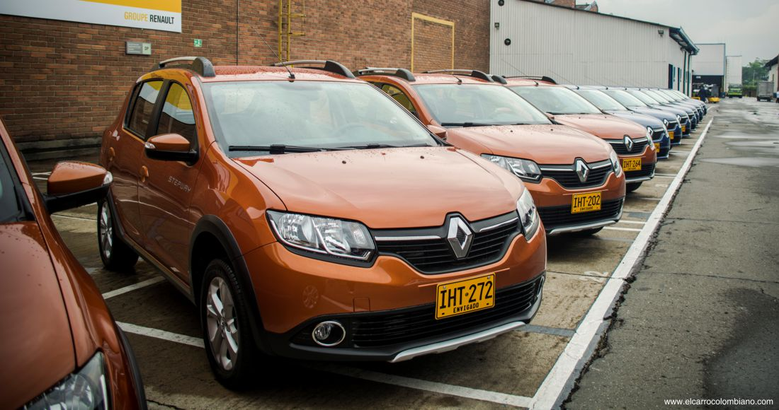 Renault ventas en Colombia noviembre 2016