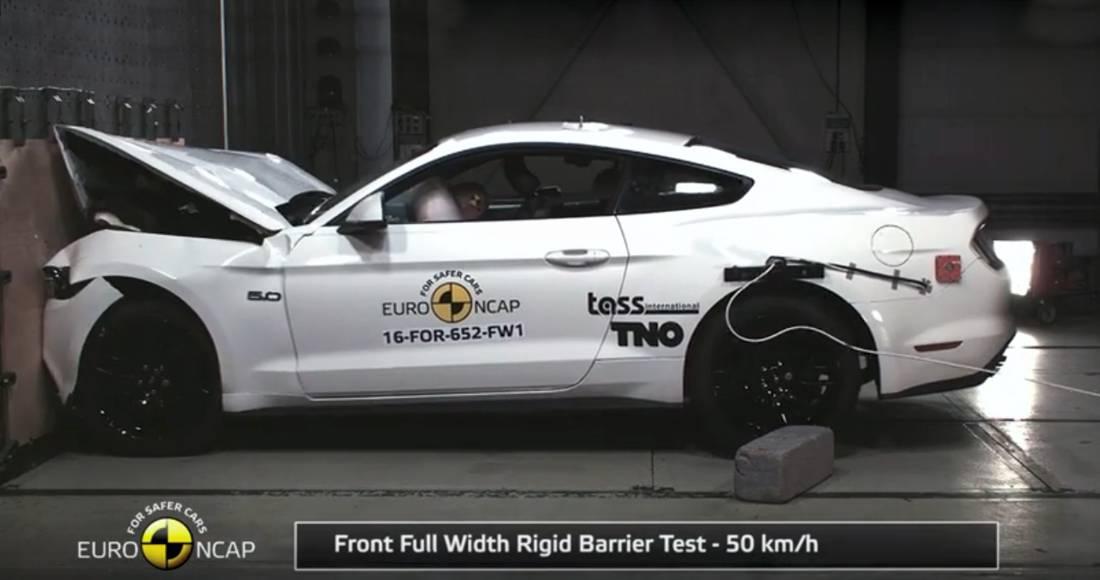 Ford Mustang 2017 Euro NCAP