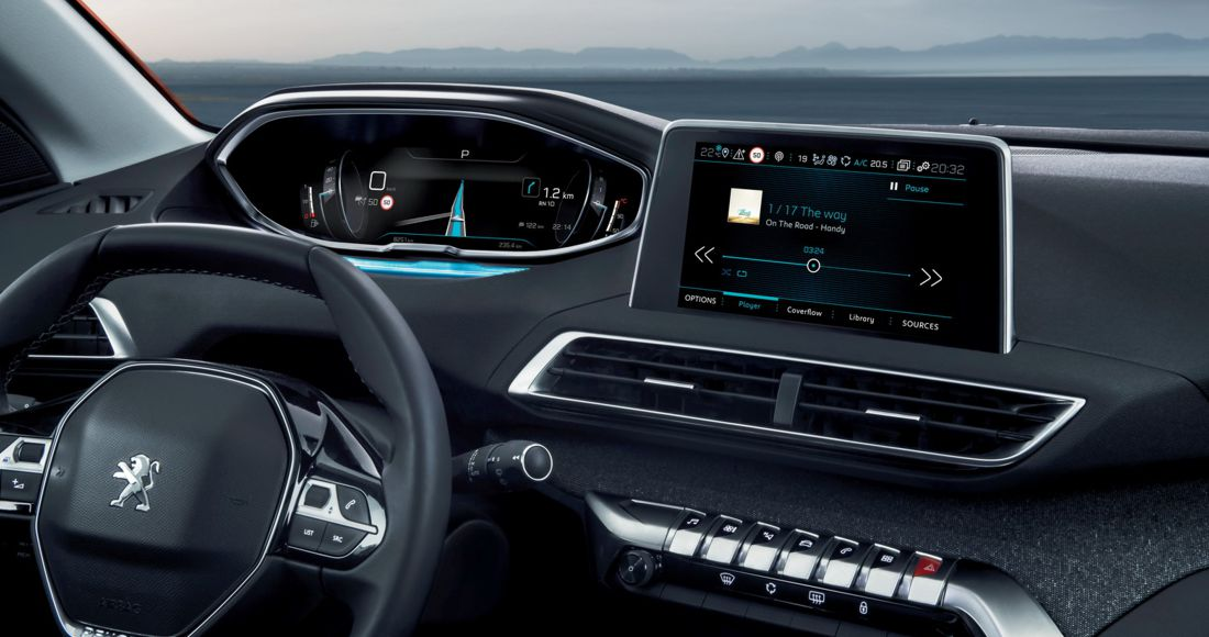Peugeot 3008 Interior mas Bello del Año 2016