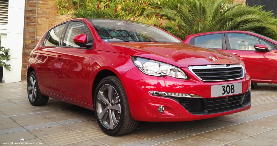 peugeot 308 colombia