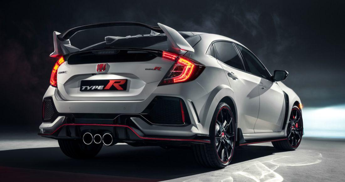 Honda Civic Type R 2017 Este Es El Nuevo Tote Onés Con Una Pinta Más Radical
