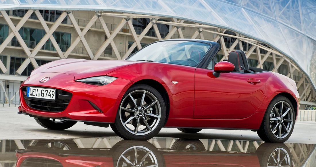 "Mazda MX-5 Mejor Convertible ""Best Cars 2017"""