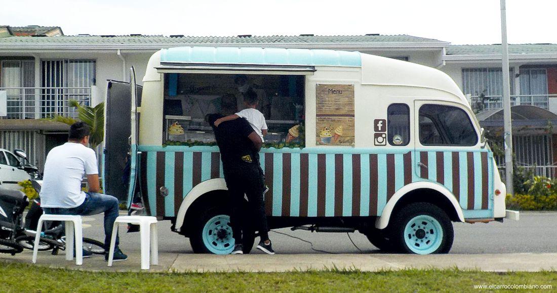 renault goelette, helados, yoguetto, pereira, food truck