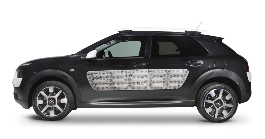citroen c4 cactus, bnomio, tatoo, citroen colombia