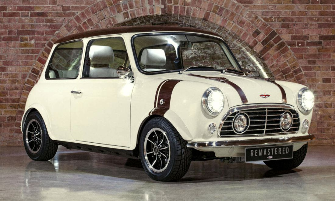 mini remastered by david brown, mini clasico, mini cooper