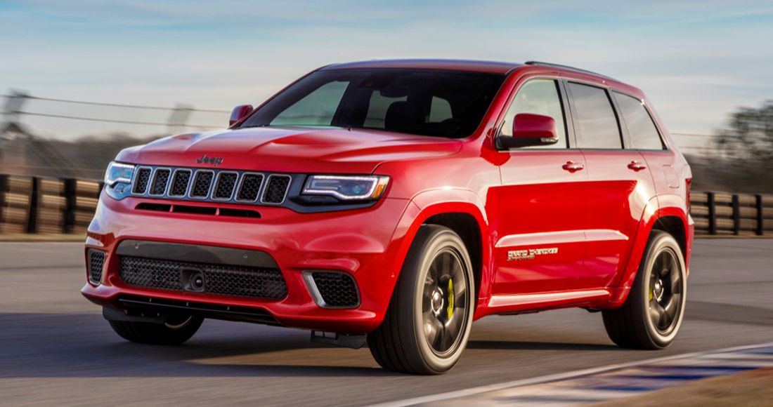 jeep grand cherokee trackhawk, auto show nueva york