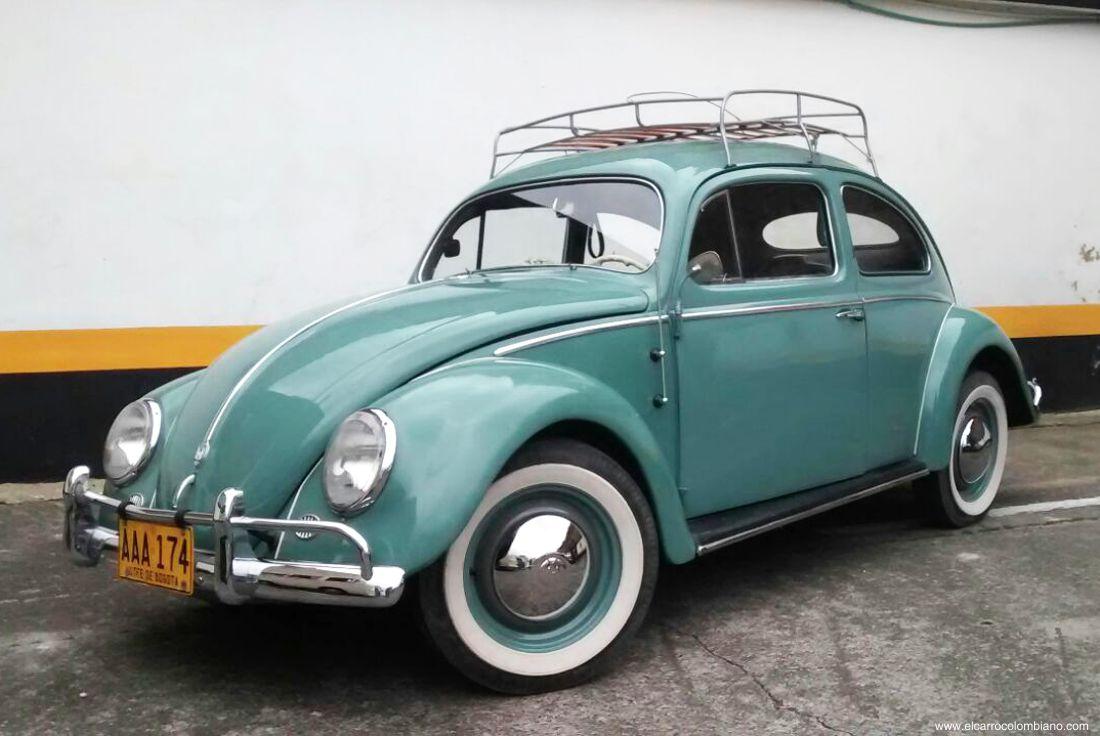 antiguomotriz, volkswagen colombia, koolwagen, carros antiguos