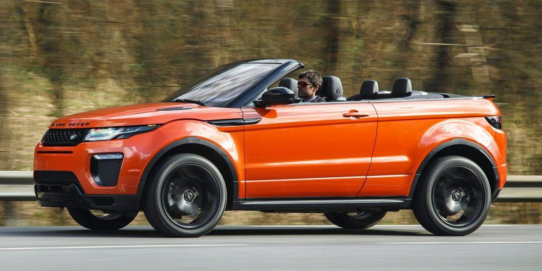 Range Rover Evoque Convertible Caracteristicas Versiones Y