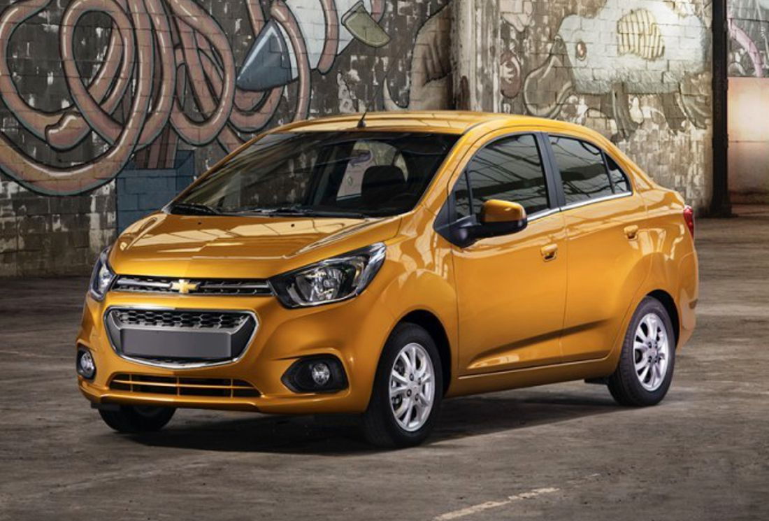 chevrolet beat notchback, chevrolet essentia, chevrolet beat colombia