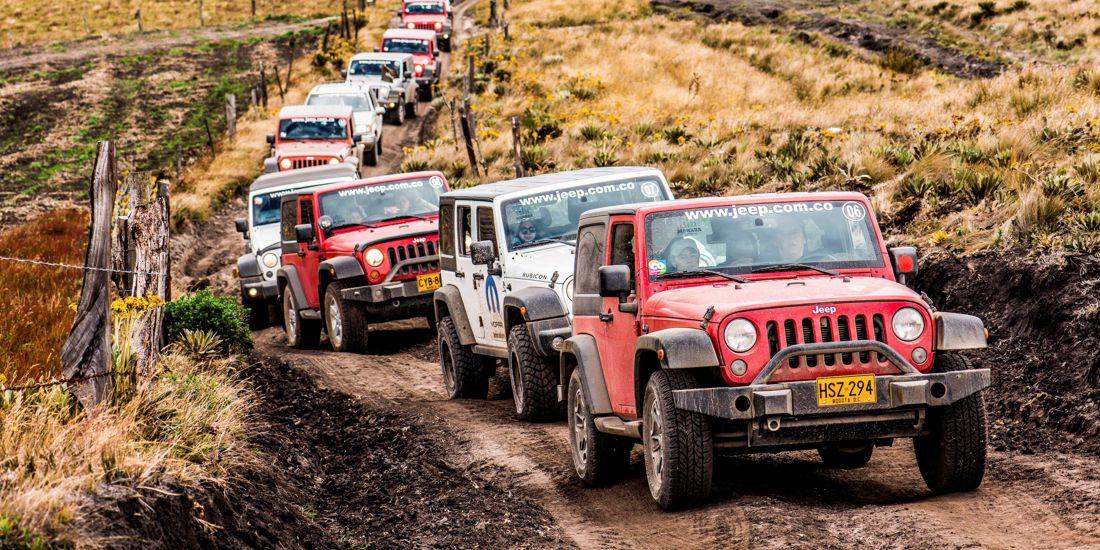 manada jeep 2017, jeep colombia