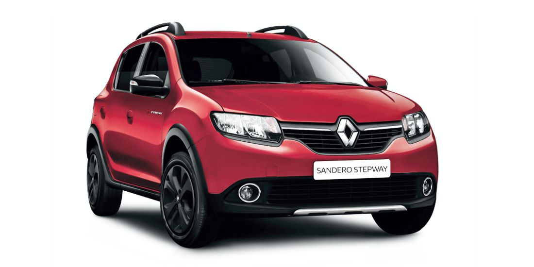 nueva serie limitada renault sandero stepway trek autos post. Black Bedroom Furniture Sets. Home Design Ideas